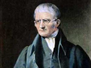 Resim: İngiliz kimyacı John Dalton (1766-1844)